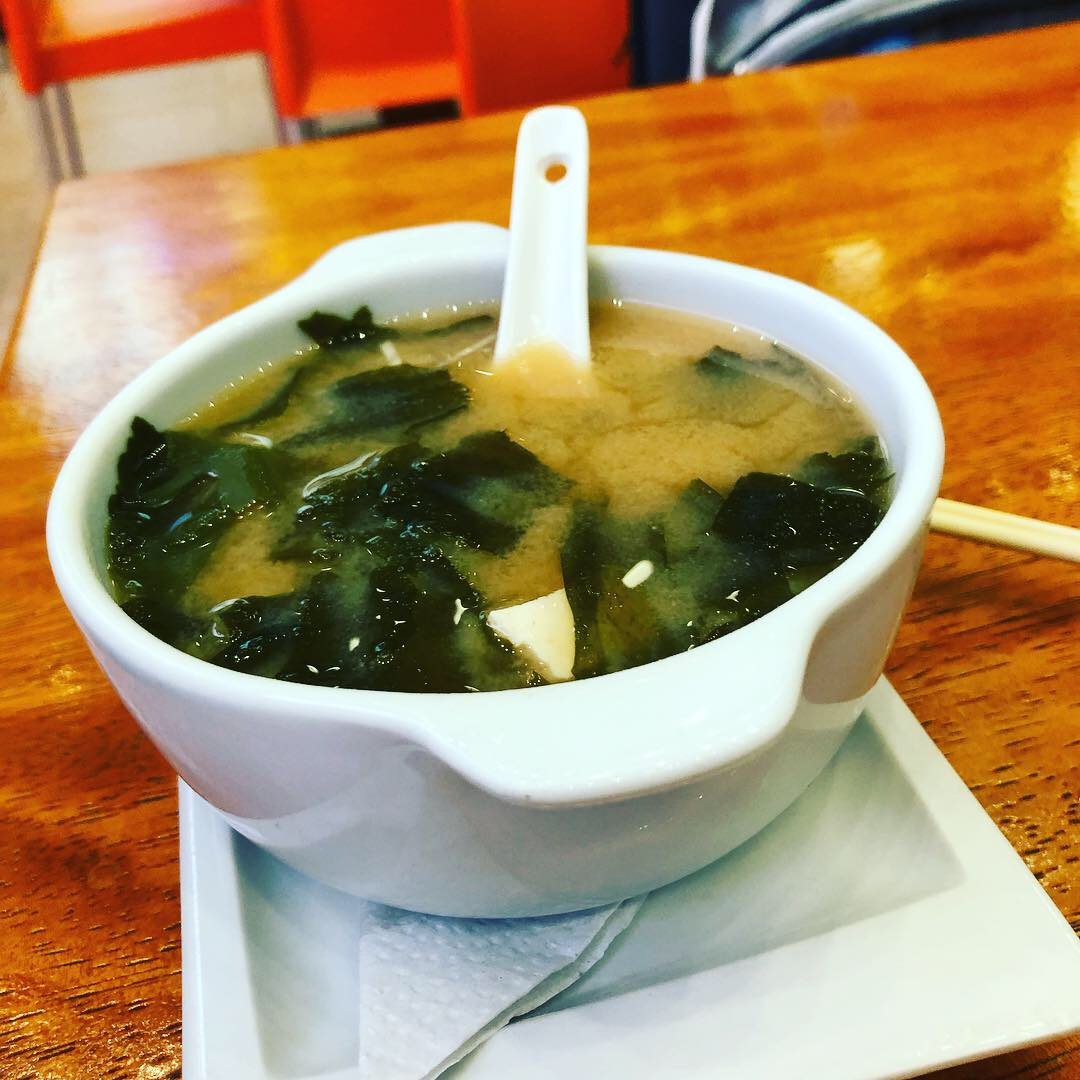 Noe Sushi Quito Airport Miso Soup