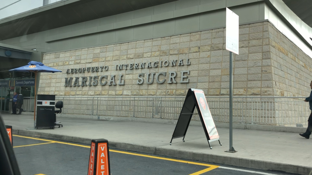 Quito Airport Mariscal Sucre International Airport