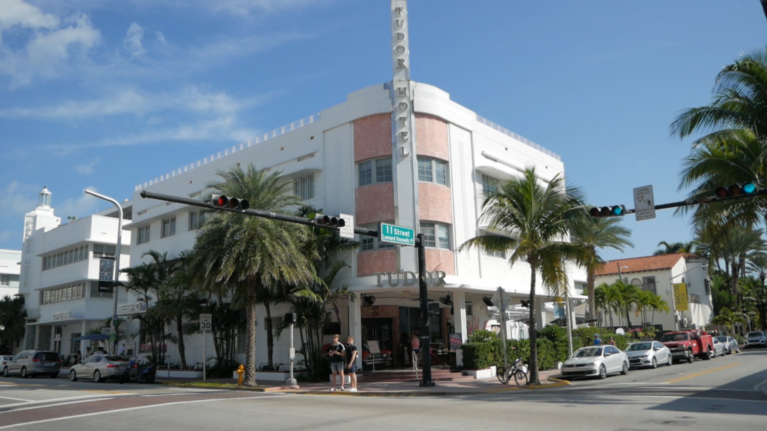 South Beach Miami Art Deco Tour Tudor Hotel