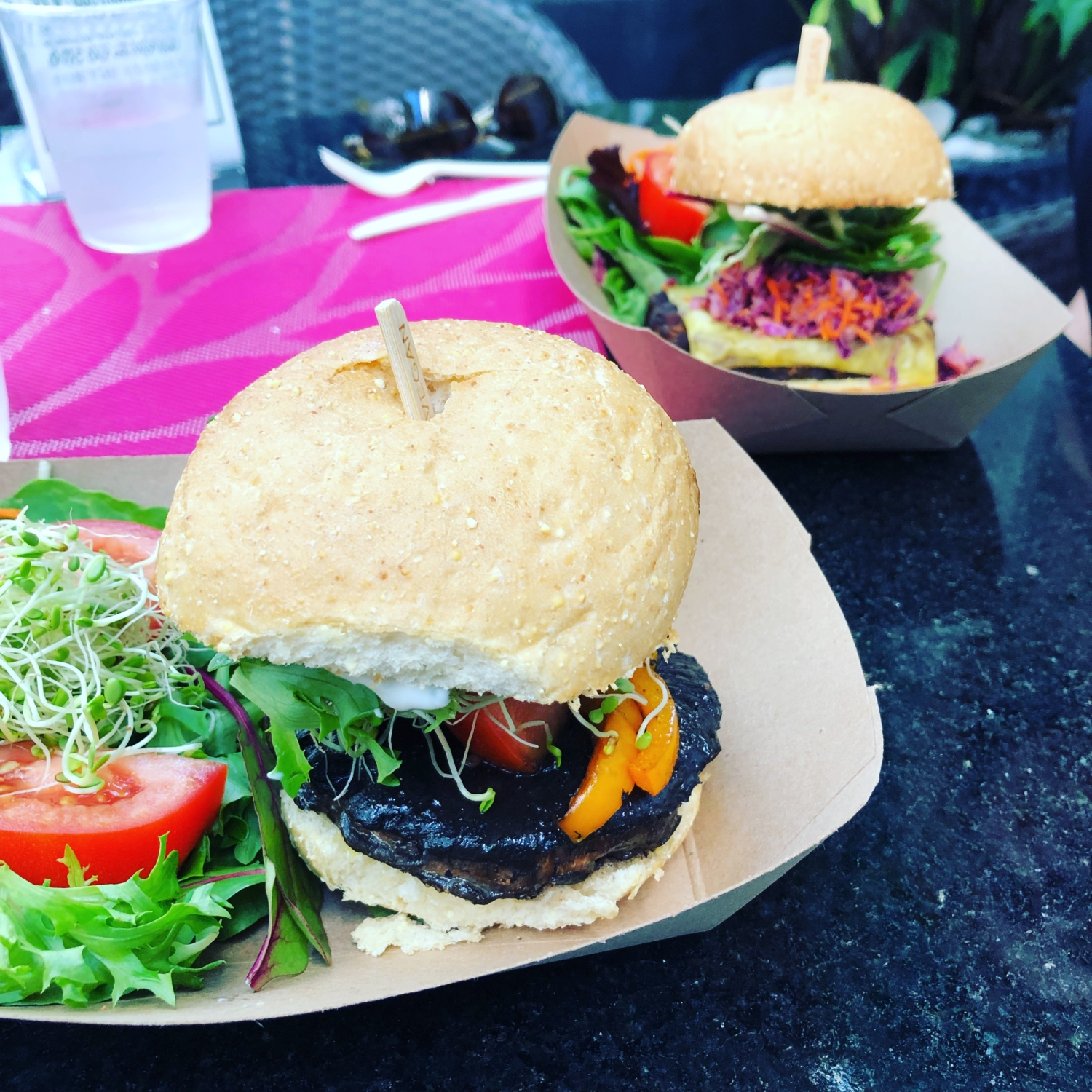 South Beach Miami Plant Theory Burgers