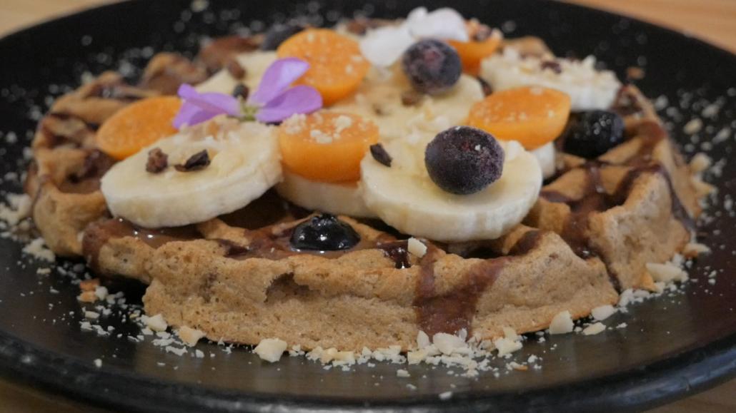 Zatua Miski Cuenca Ecuador Waffles