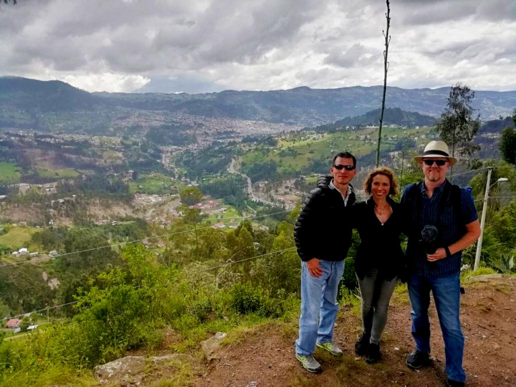 La Virgen del Rocío Biblián Ecuador View