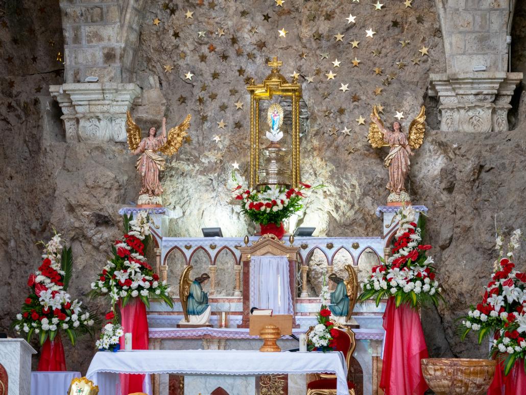 La Virgen del Rocío Biblián Ecuador Church Altar