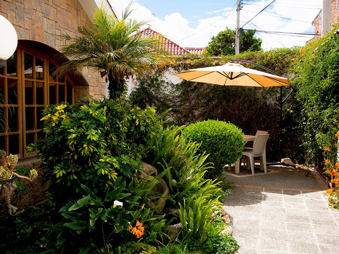 Cuenca Ecuador Courtyard