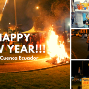 New Years Eve Apocalypse in Cuenca Ecuador