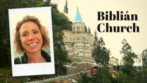 La Virgen del Rocío in Biblián Ecuador