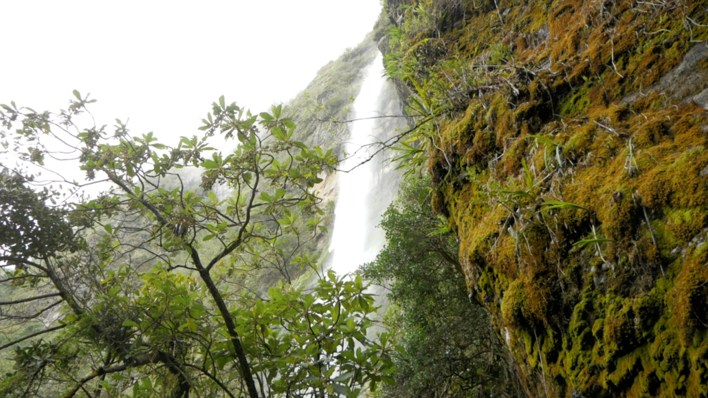 Girón Ecuador Waterfall
