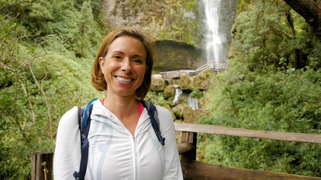 Girón Ecuador Waterfall Amelia