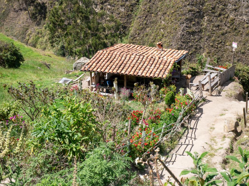 House Below La Cara del Inca