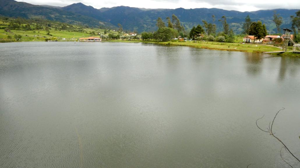 Laguna de Busa Ecuador