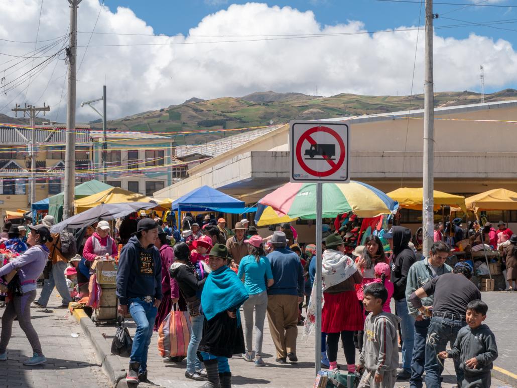 Mercado de Cañar
