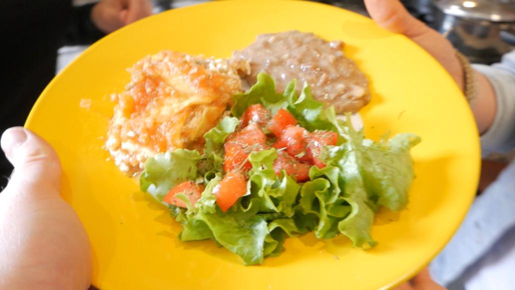 Mexican Lasagna Plate