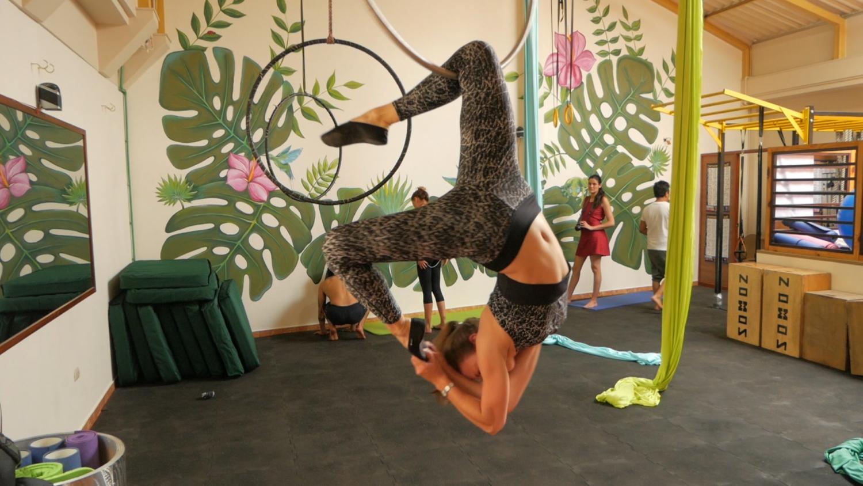 Cuenca Ecuador Fitness Aerial Dance