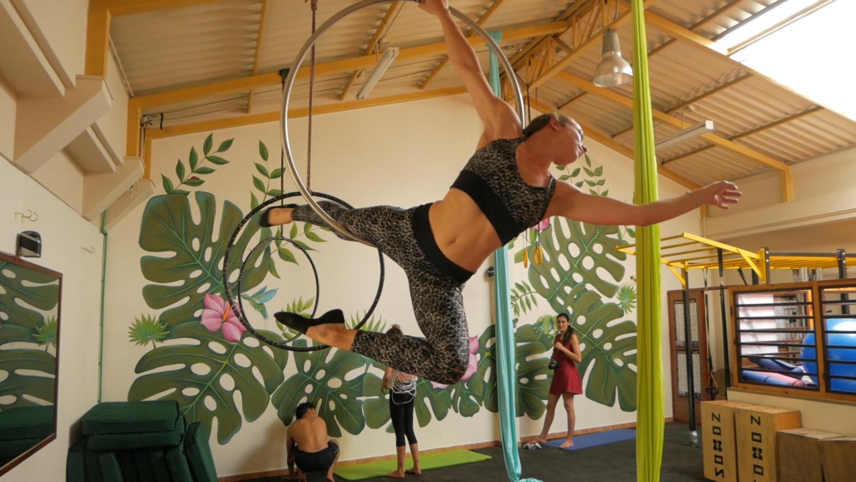 Cuenca Ecuador Fitness Aerial Dance 2