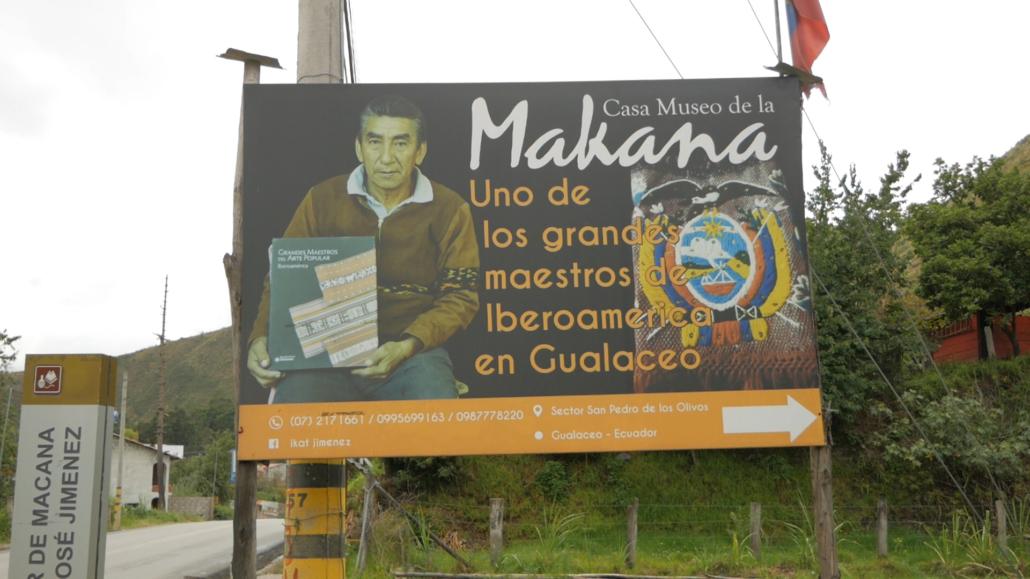 Casa Museo de la Makana Billboard