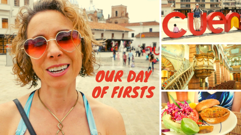 San Francisco Plaza Cuenca + Old Cathedral Tour + Vegan Lunch at Funky Sauce Cuenca