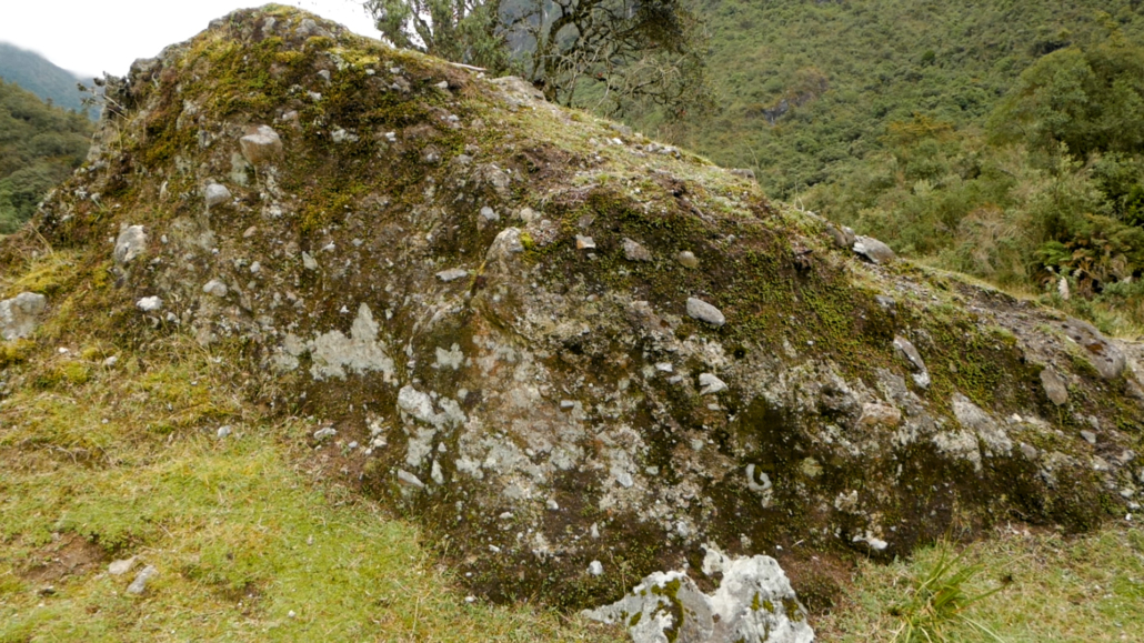 Lower Cajas Glacial Rock