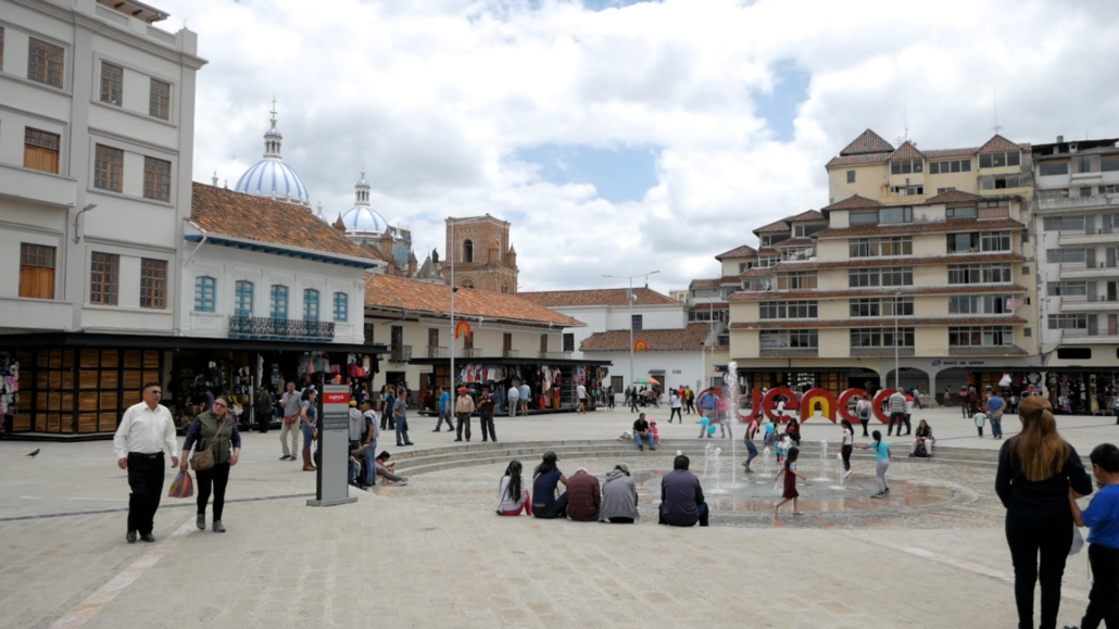 San Francisco Plaza Cuenca