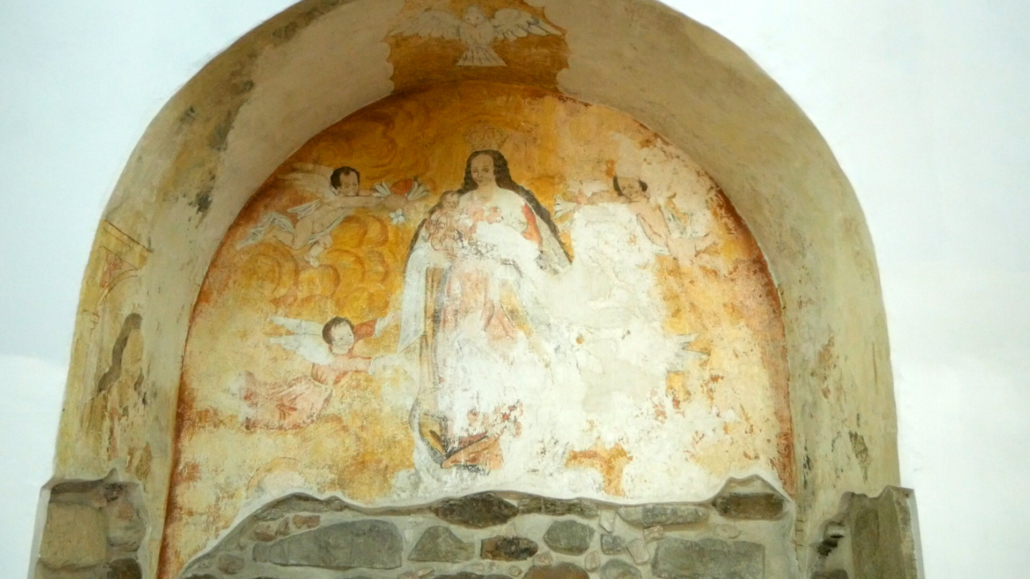 The Old Cathedral Cuenca Mural