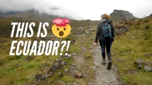 Hiking Upper Cajas Cuenca Ecuador