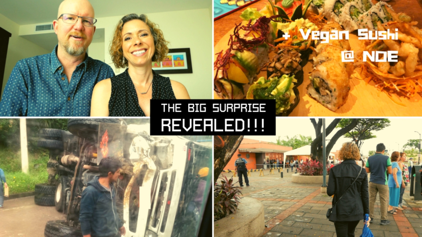 Our Big Surprise + Emergency Trip to US Embassy in Guayaquil