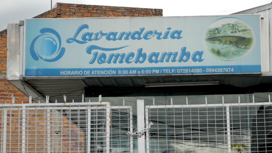 Lavandería Tomebamba