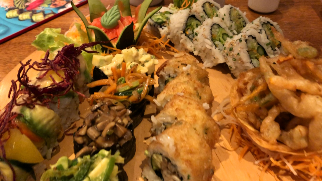 NOE Sushi Platter