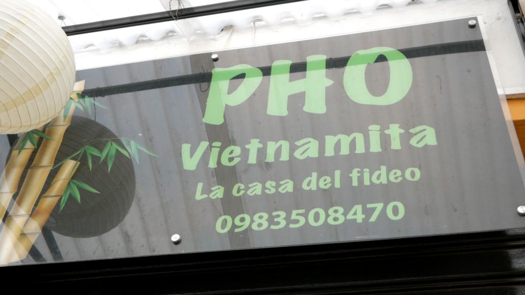 Pho Vietnamita Cuenca Sign