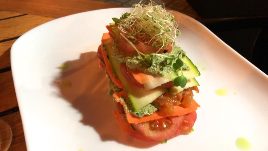 Cafe Libre Raw Lasagna