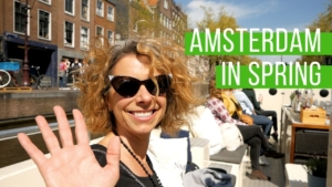 Amsterdam Canal Tour Spring 2019
