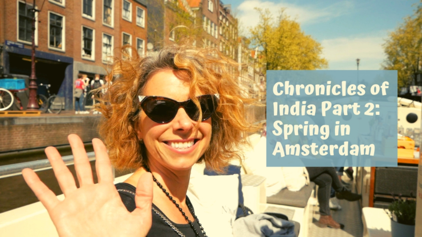 Spring in Amsterdam + Canal Tour