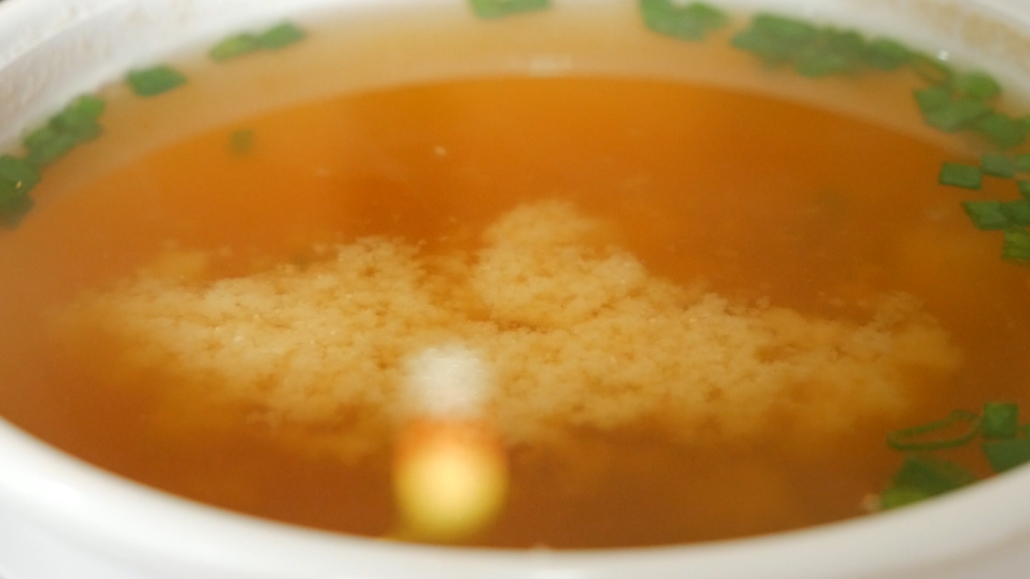 Origami Sushi Cuenca Miso Soup