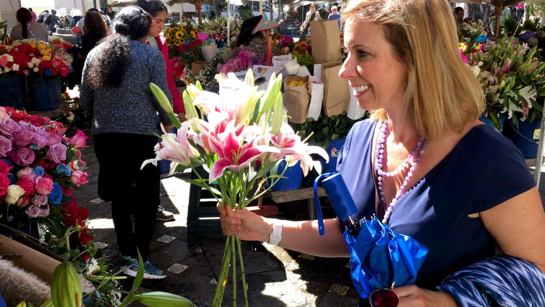 Amelia Cuenca Ecuador Flower Market