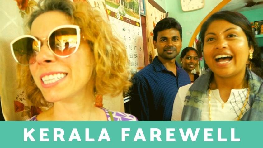 Kerala India Farewell