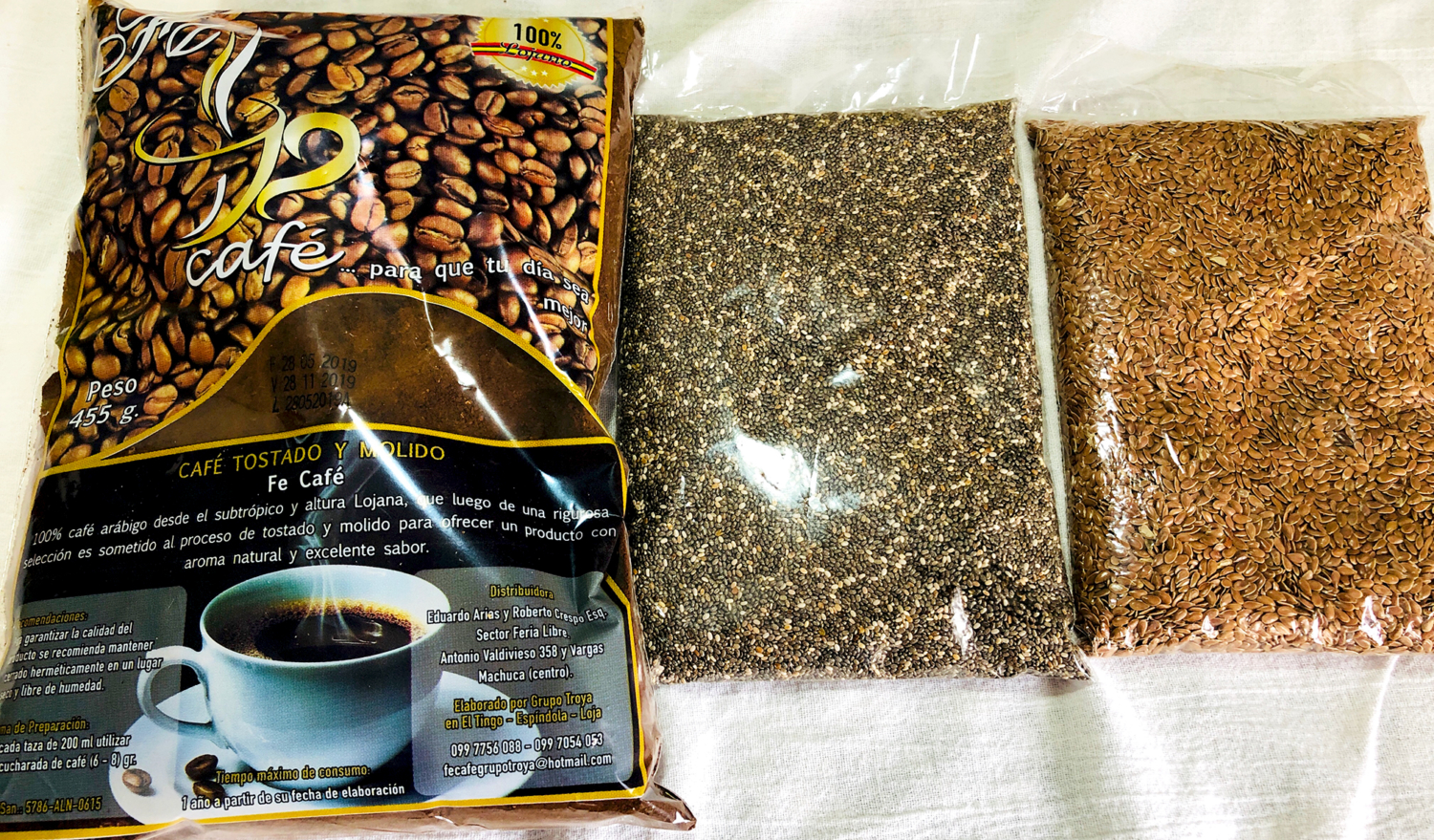 Cuenca Ecuador Coffee and Seeds