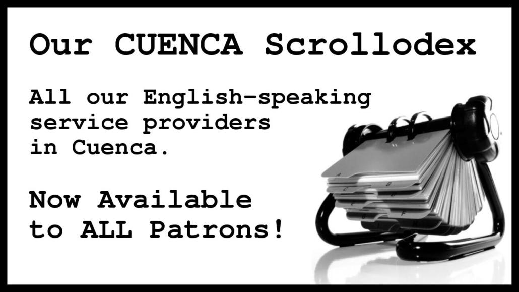 Amelia And JP Scrollodex