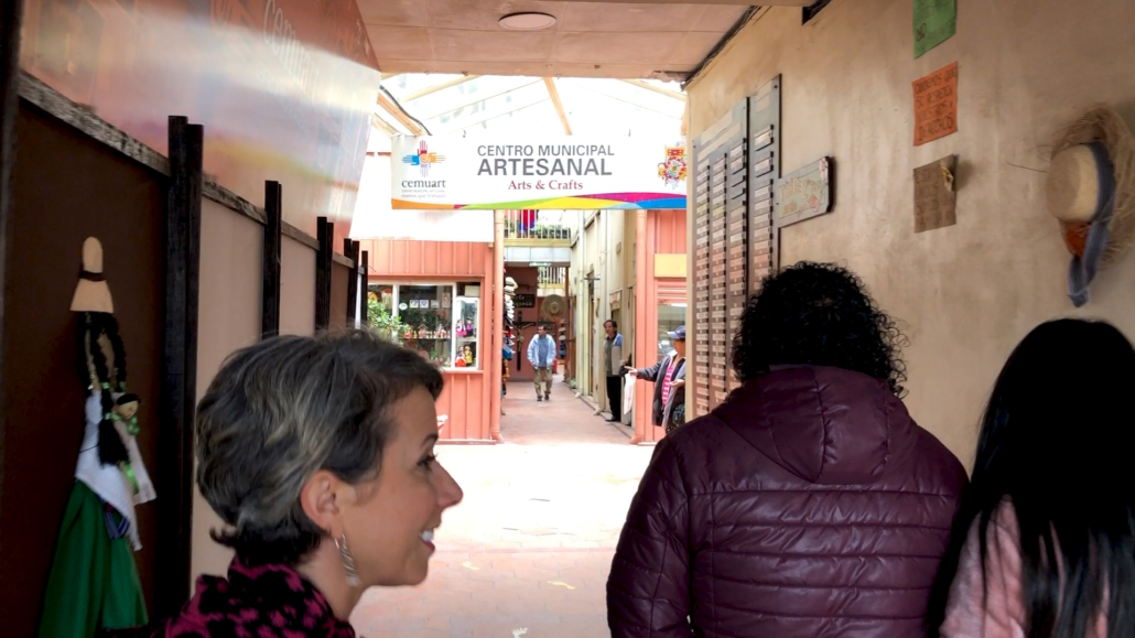 Centro Municipal Artesanal Cuenca Ecuador