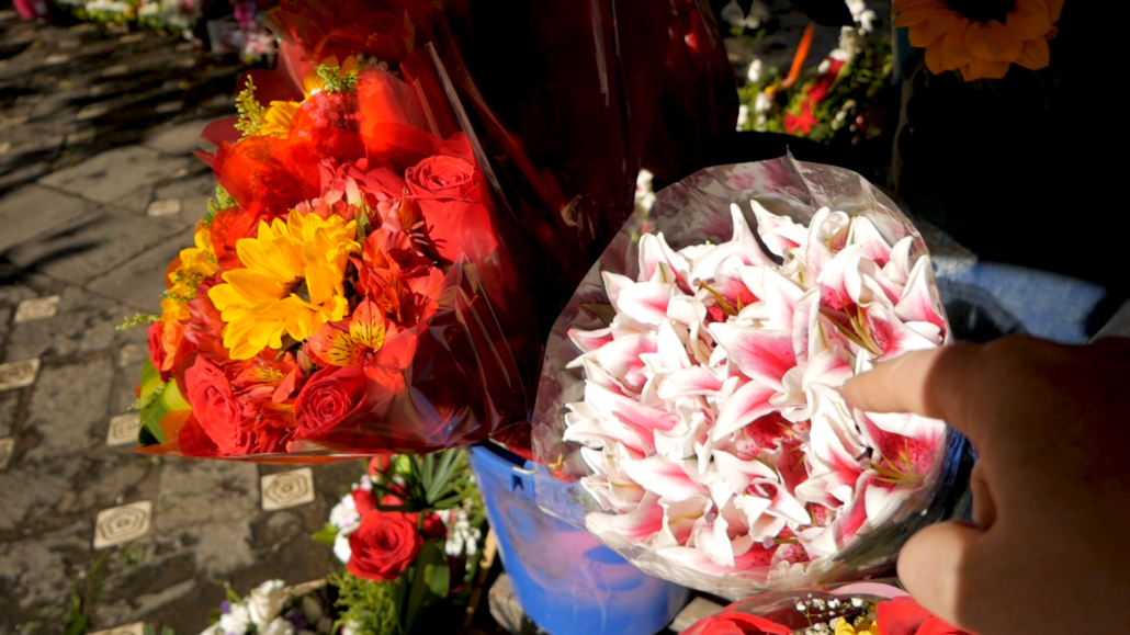 Cuenca Flower Market Lilies