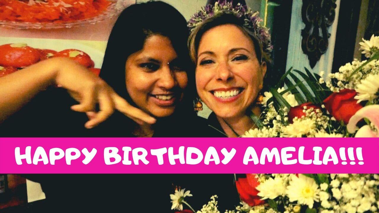 Amelia's Birthday in Cuenca Ecuador