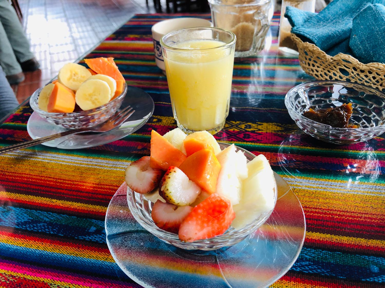 Vilcabamba Ecuador Madre Tierra Breakfast 1