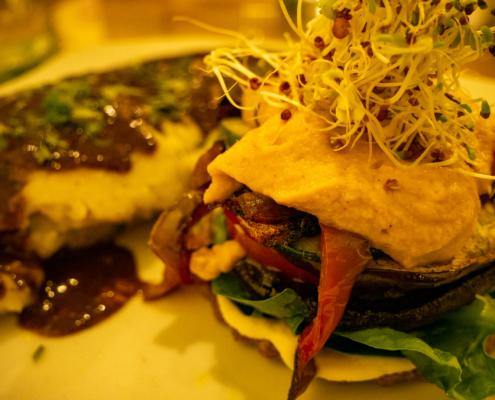 Vilcabamba Ecuador Micos 3 Portobello Burger