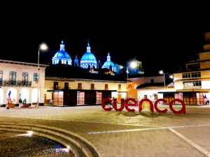 The New Cathedral Cuenca Ecuador