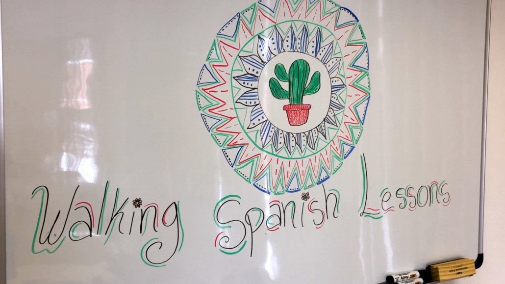 Walking Spanish Lessons