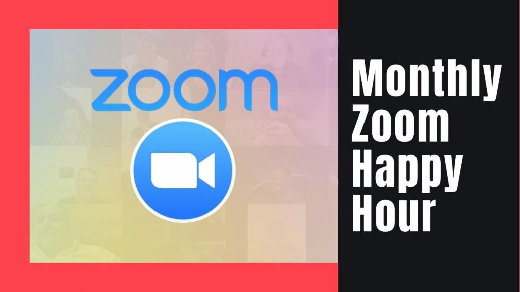 Amelia And JP Zoom Happy Hour