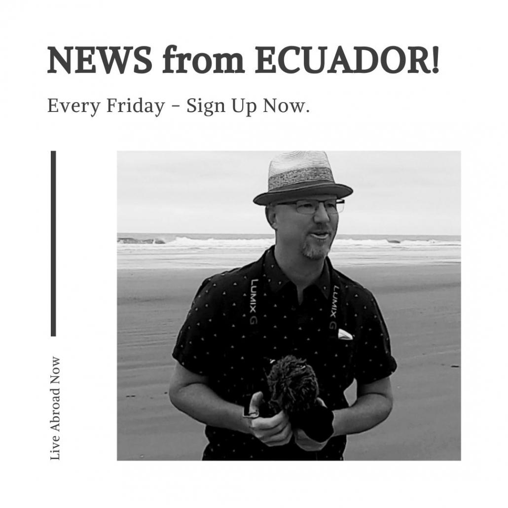 News from Ecuador